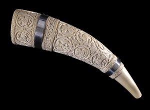 Borradaile Oliphant, ivoor, 10de - 11de eeuw, British Museum, Londen. Foto: British Museum.